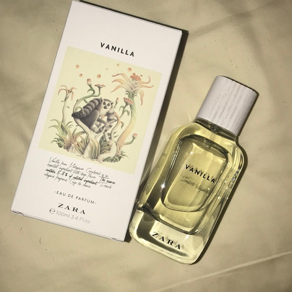 Zara Makeup Natural Line Vanilla Eau De Parfum 34 Oz Poshmark
